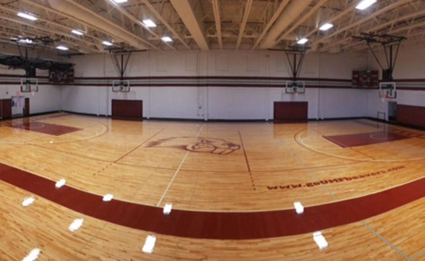 University of Massachusetts; University of Maine ... - Wood Gym Floor Photos Installation Repairs Refinishing New